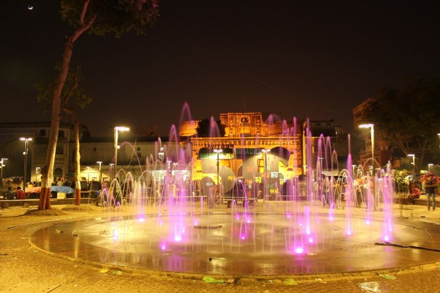 Fountain at bhadra square